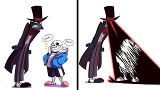 Sans' awful puns are NOT appreciated