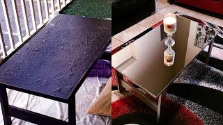 #11D.I.Y: MIRROR COFFEE TABLE