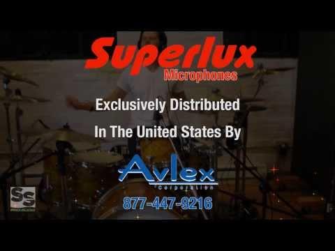 SUPERLUX MICROPHONE VIDEO DEMO