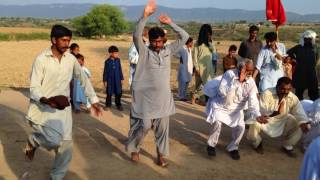 Desi group Bhangra beats Dance with dhol in village Majhia Fateh Jang Part 8/10