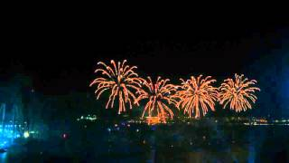 Dubai New Year's Eve Fireworks - JBR / Palm - 2015/2016
