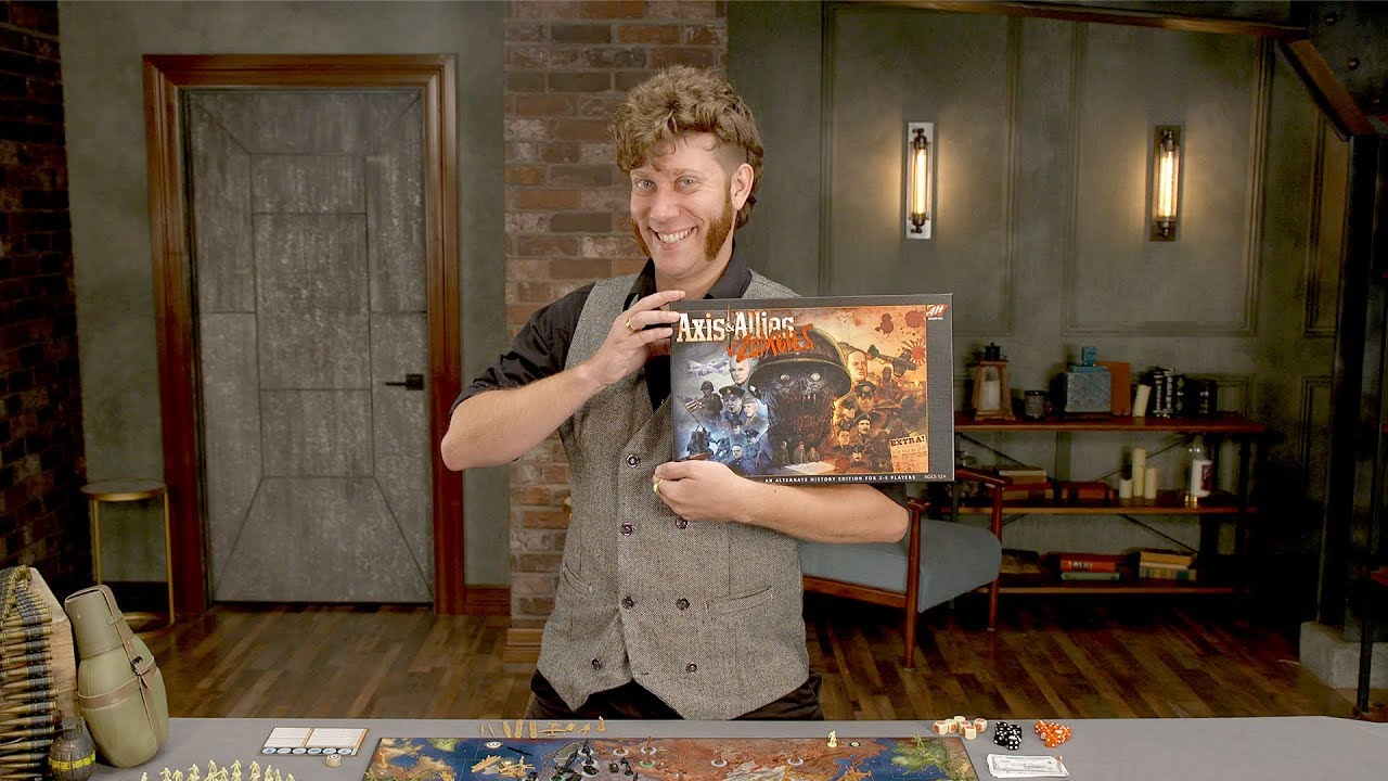 OVERVIEW: AXIS & ALLIES & ZOMBIES is Exciting for New & Established