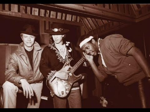 David Bowie Let's Dance Rare Version (Bowie & Stevie Ray Vaughan Isolated) Vocal e Guitar Only Track