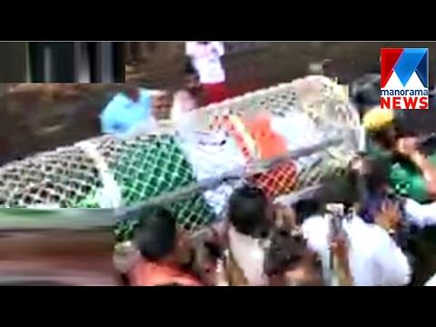 Former minister E Ahamed's funeral held in Kannur | Manorama News