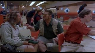 they peed on your fucking rug - Lebowski epiphany