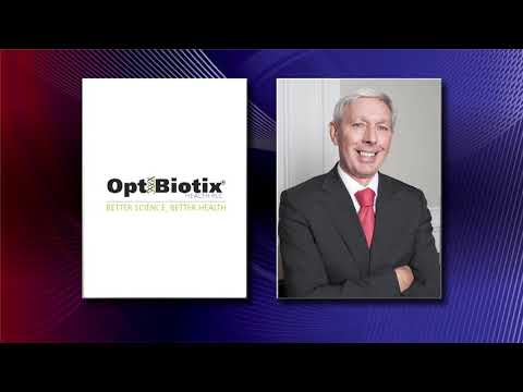 Cheers for the new Chairman at Optibiotix