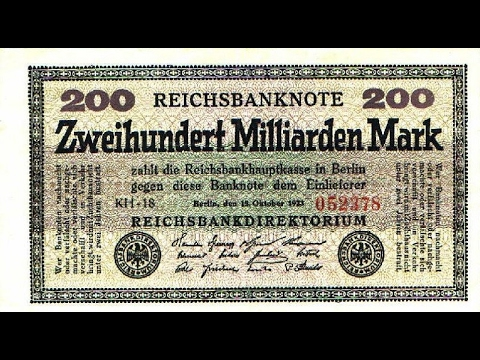 DEFLATION to HYPERINFLATION : Germany 1923 history and now : what could we expect ?