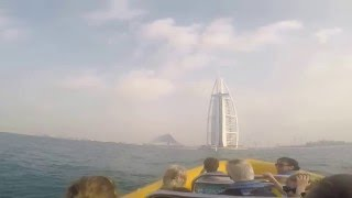 Dubai RIB Boat Cruise: Palm Jumeirah and Dubai Marina(Yellow boat)