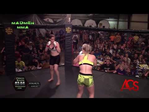 Madmen MMA Delson Petrie Memorial Event Julisa Garza vs Ciara Wertzbar 125