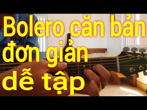 Hướng dẫn cách đàn điệu bolero trên đàn guitar