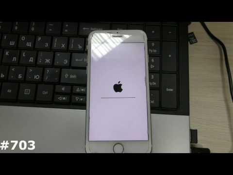 Как перепрошить заблокированный айфон 6