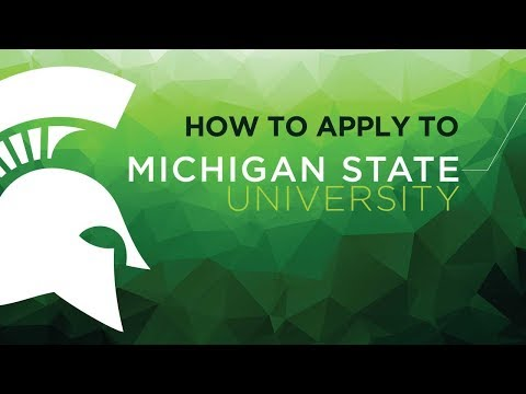How to apply to Michigan State University