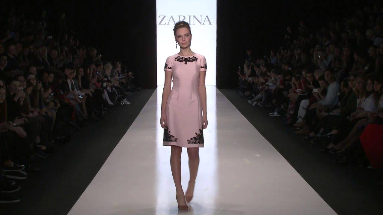Показ ZARINA в рамках Недели моды Mercedes-Benz Fashion Week Russia ... eb73d5ae10b