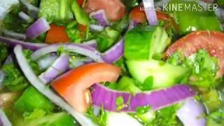 سلطة الحاتى للمشويات  ## مولعة ناااار ## مع ويسكى السلطة ## Green salad with grill ##