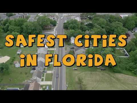 The 10 SAFEST CITIES To Live in Florida