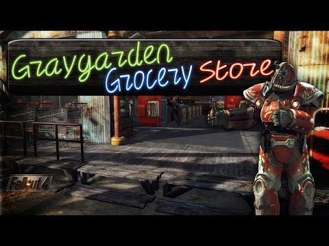 Fallout 4: Graygarden Grocery Store! ---No Mods---