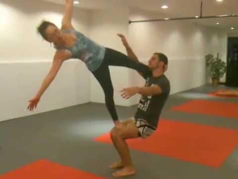 flag in acro yoga  youtube