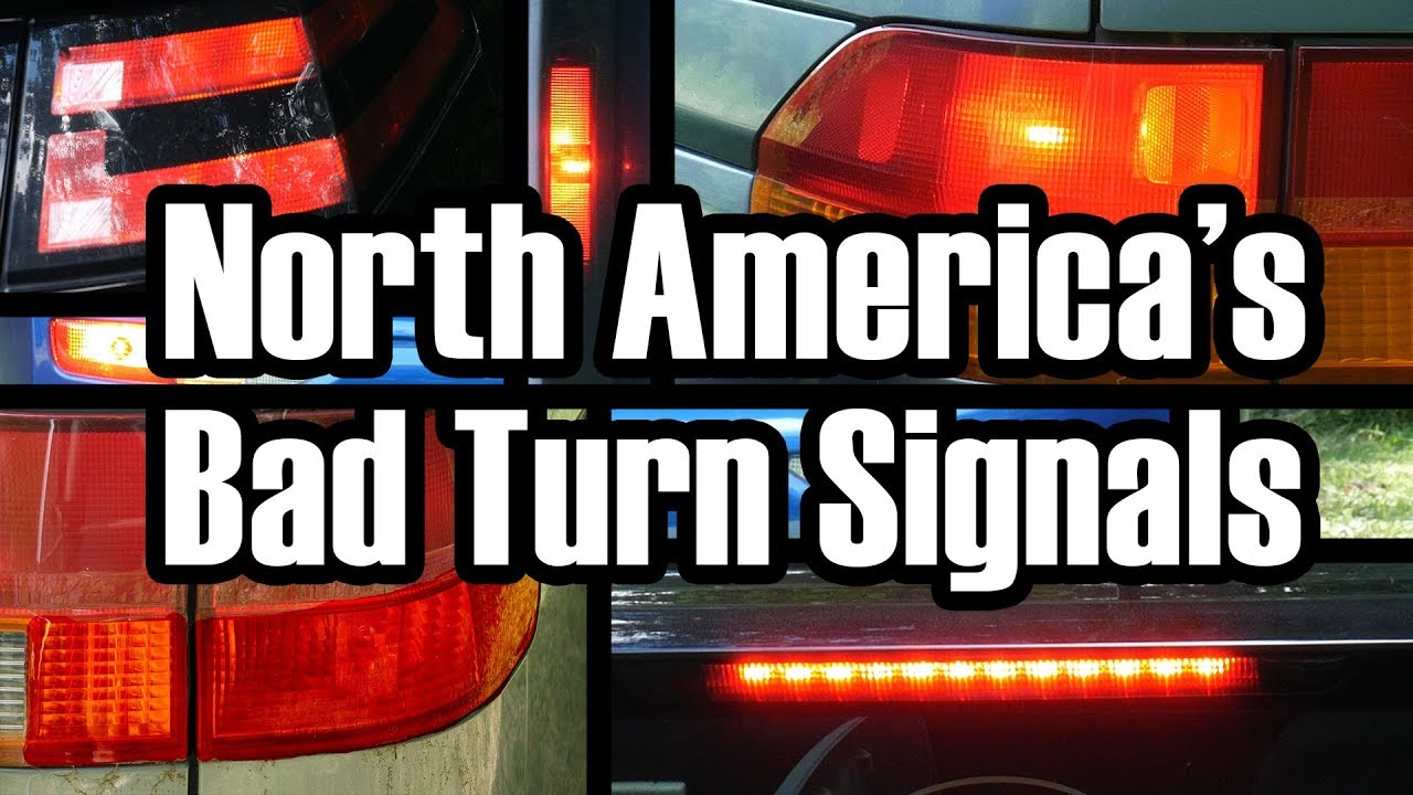 The Senseless Ambiguity Of North American Turn Signals Youtube