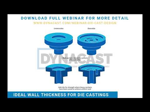 Die Casting Design   Wall Thickness   Tolerances