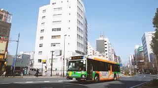 都營交通 TOKYO TOEI 私視点,TOKYOミニ百景 (TOEI Transportation)[都營巴士 池86][渋谷,原宿,新宿,池袋]