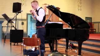 Performance by Geir Strandenæs Larsen (ocarina) and Miki Ambo (pian...