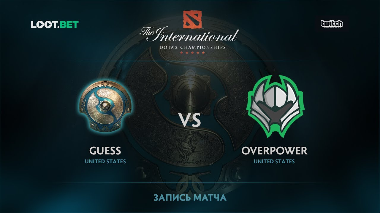 Guess vs Overpower, The International 2017 NA Qualifier