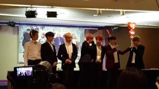 161104  용산 팬싸 방탄소년단 BTS 오늘의 엔딩포즈!