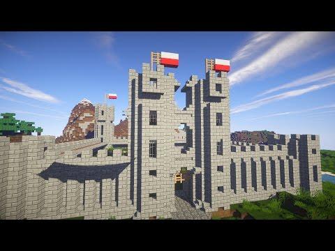 Майнкрафт: Как построить КРЕПОСТЬ ЗАМОК (Minecraft Castle)