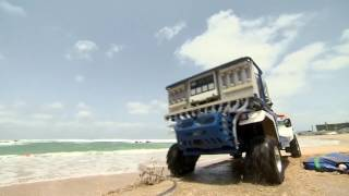 Netanyahu and Modi walk barefoot, ride in jeep on the beach