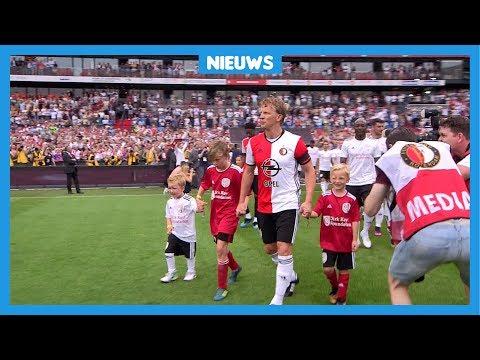 Groot afscheid voor voetbalheld Dirk Kuijt