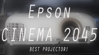 Epson Home Cinema 2045 Projector | Wireless | Clear Image | Super Bright!