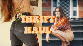 One of Freya Haley's most viewed videos: VINTAGE THRIFT/ OP SHOP TRY ON HAUL || Freyahaley