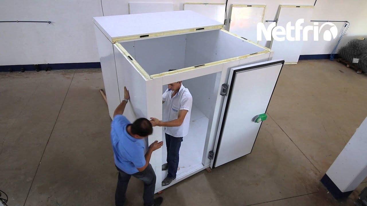 Montagem Câmara Fria Modular - Netfrio - YouTube - photo#39