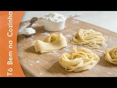 COMO FAZER MASSA FRESCA - Receita de massa de macarrão (Episódio #177)