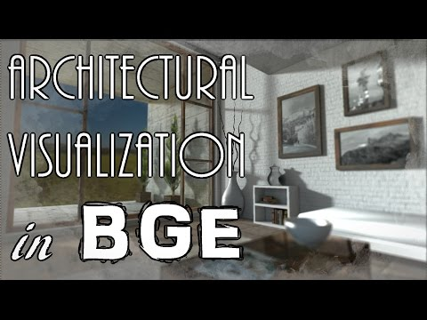 Architectural Visualization in The Blender Game Engine