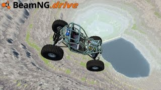 BeamNG Drive - LEAP OF DEATH