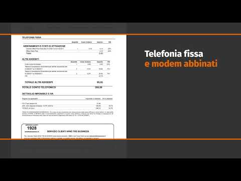 Wind Tre Business  -  Tutorial Fattura