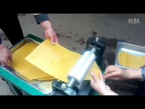 Electrical Beeswax Foundation Machine, Bee Wax Foundation Embossing Roller