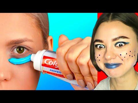 Вирусные Лайфхаки Для Красоты! Зубная Паста под Глаза! Зачем?