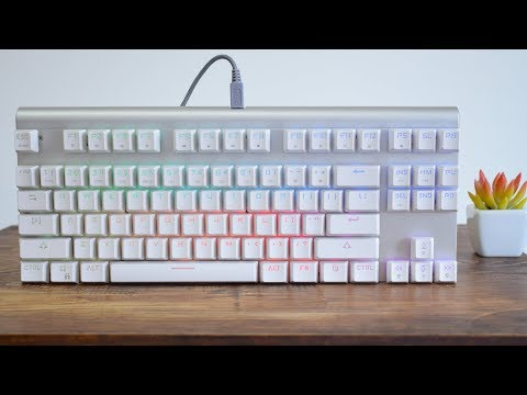 Motospeed CK101 Best Budget Mechanical Keyboard // Review