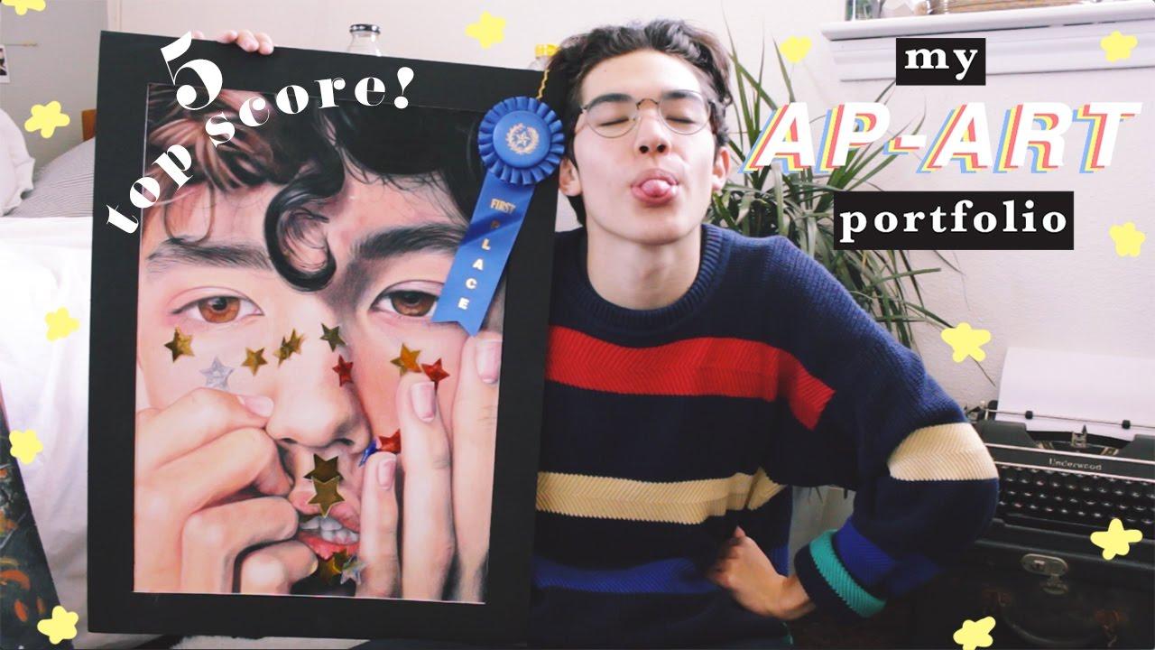 My AP ART Portfolio Top Score Tips And Help YouTube