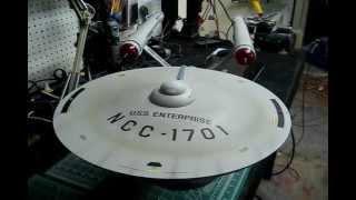 Polar Lights 1/350 Scale TOS U.S.S. Enterprise Buildup - The Finale