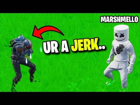 I MET Marshmello In Fortnite... (ends Bad)