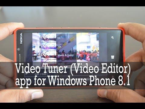 Video Editor for Windows Phone 8.1