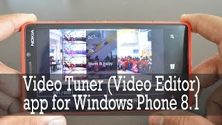 Video Editor for Windows Phone 8.1