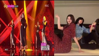 210116 Twice Sana & Momo dancing to Girl's Day Somet…