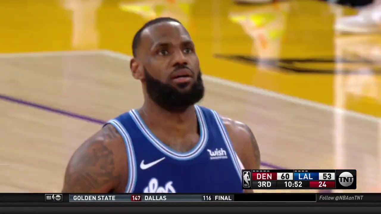 LeBron Airballs Free Throw While Reggie Miller Praises His Game – Bleacher Report