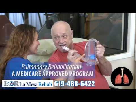 La Mesa Rehab Pulmonary Therapy