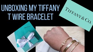 Unboxing Tiffany&Co T Wire Bracelet Review  | Asianfashionista