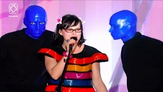 BLUE MAN GROUP | Venus Hum | I Feel Love | Carmen Electra | Dancestar USA |
